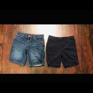 The Children's Place Boys Shorts Lot Of 2